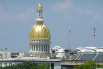 Trenton state Capitol building. (WHYY file photo)