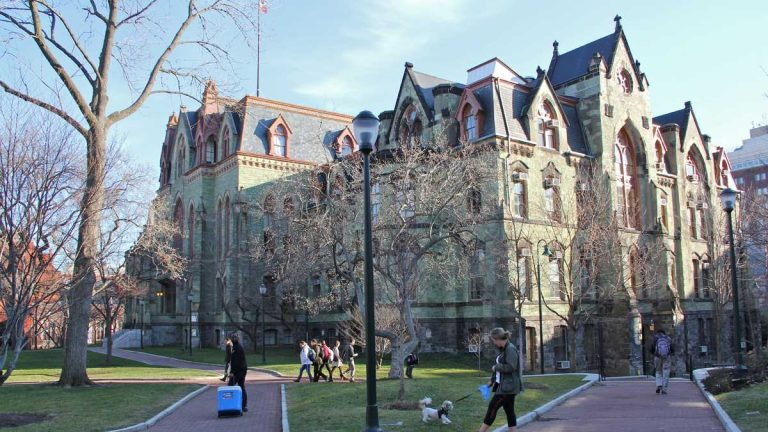 Graduate students who work for the University of Pennsylvania are taking steps to unionize. (NewsWorks file photo)