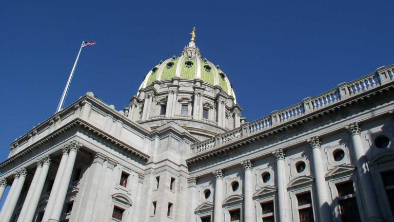 Pennsylvania's Capitol building in Harrisburg (Image courtesy of WikiMedia Commons)