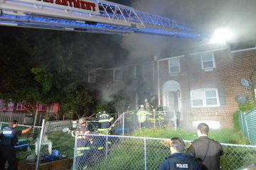 Three Wilmington firefighters died from injuries they received while fighting a rowhome fire in the city on Sept. 24,  2017. (File/WHYY)