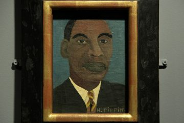 A self-portrait of Horace Pippin, 1944.