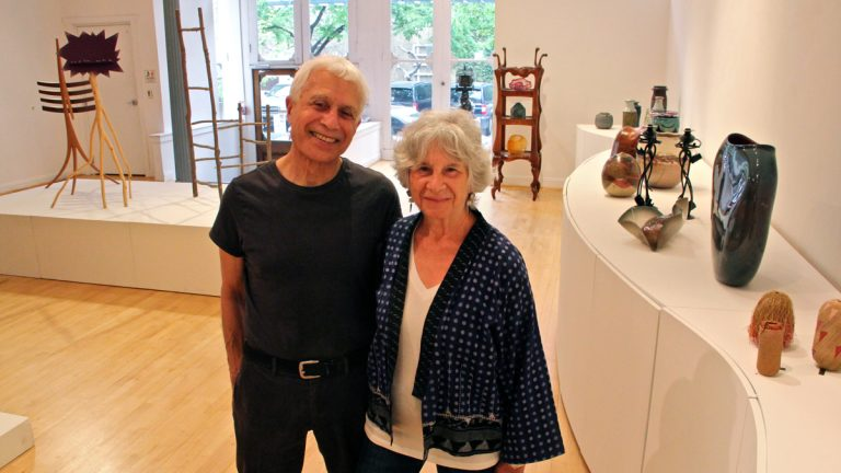 After 52 years, Philadelphia gallery owners Rick and Ruth Snyderman are closing. (Emma Lee/WHYY, file)
