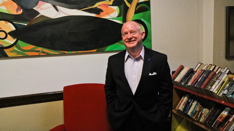 Ted Martin heads Equality Pennsylvania, an organization that works to obtain equal rights for Pennsylvania's LGBT community. (Kimberly Paynter/WHYY)