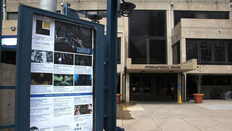 The International House film program has a new name, Lightbox Film Center. (Emma Lee/WHYY)