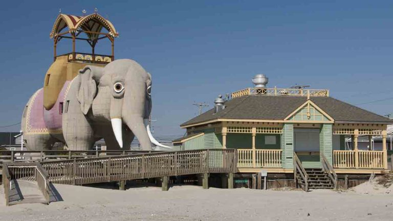 Lucy the Elephant is a major tourist attraction in Margate, N.J. (SteveCummings/Big Stock)