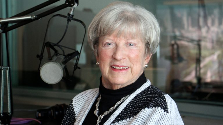 Lynn Yeakel, who nearly defeated U.S. Sen. Arlen Specter in 1992, says she's in no position to judge the merits of the Kavanaugh case, but she wishes it would be considered in a thorough, nonpartisan process. (Emma Lee/WHYY)