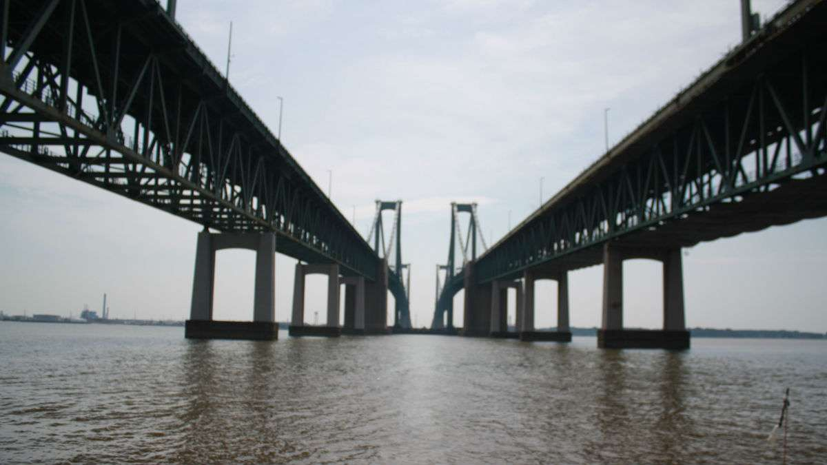 Delaware Memorial Bridge (Mark Eichmann/WHYY)