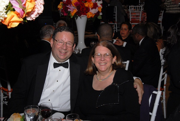 <p><p>Marian Anderson Award gala dinner chair and Comcast executive vice president, David L. Cohen and his wife, Rhonda (Photo courtesy of David A. Ickes)</p></p>