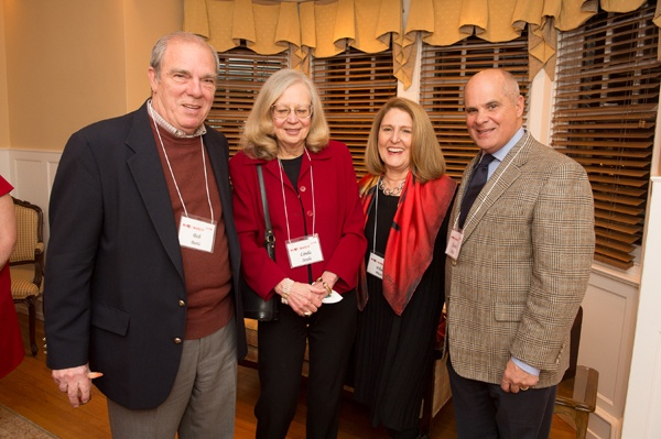 <p><p>Bob Boris (left) and his wife, Linda Seyda with Elise Pizzi and her husband, WHYY board member Charlie Pizzi (Photo courtesy of Daniel Burke Photography)</p></p>