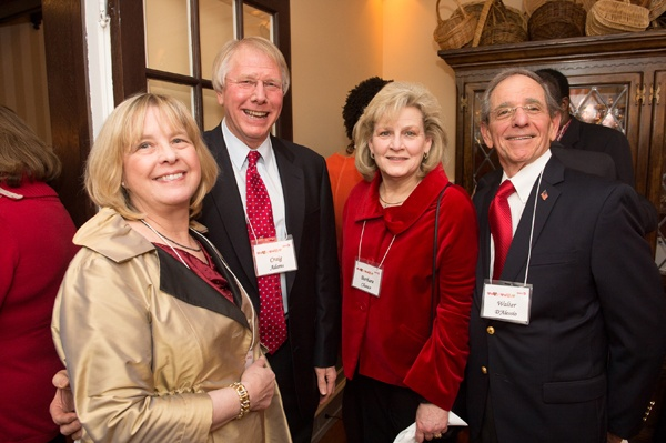 <p><p>WHYY board members Craig Adams, President and CEO of PECO (left) and Walt D'Alessio, President and CEO of NorthMarq with April Adams and Barbara Chance (Photo courtesy of Daniel Burke Photography)</p></p>