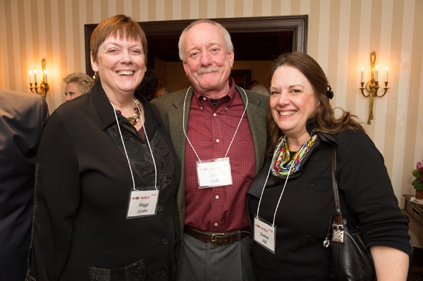 <p><p>WHYY Director Maggi Leyden (left), John Fuhr of Paratherm Corporation and Joanne Hill (Photo courtesy of Daniel Burke Photography)</p></p>