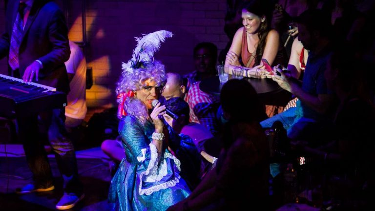 """The popular cabaret entertainer got backing from the Kimmel Center to write and record the all-originals collection """"Lashed But Not Leashed."""" (Brad Larrisonfor WHYY)"""