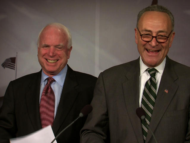 Why don't Senators McCain and Schumer care about the impact of increased immigration and amnesty on unemployed and underemployed Americans?