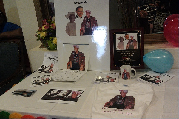 <p>&lt;p&gt;A table filled with memorabilia honoring Ida McDougal and President Barack Obama's Inauguration Day. (Yasmein James/for NewsWorks)&lt;/p&gt;</p>