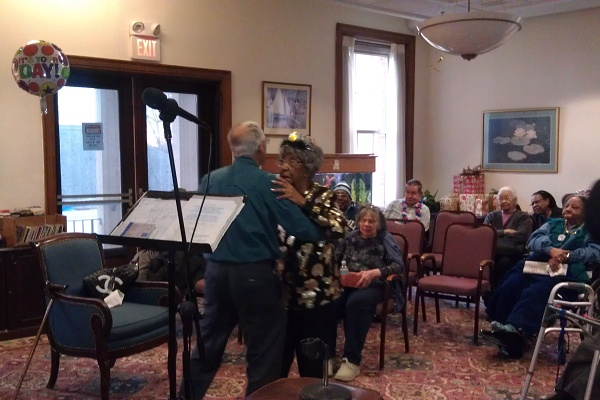 <p>&lt;p&gt;Ida McDougal dances to Frank Sinatra's &quot;It Had To Be You&quot; with another Wesley Enhanced Living at Stapely resident. (Yasmein James/for NewsWorks)&lt;/p&gt;</p>