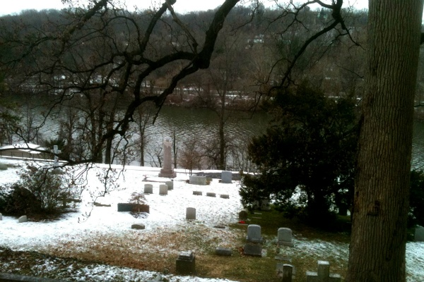 <p><p>The view from Meade's gravesite overlooking the Schuylkill River and West Fairmount Park. In 1866, Meade was named the first commissioner of the newly-created Fairmount Park. (Karl Biemuller/for NewsWorks)</p></p>