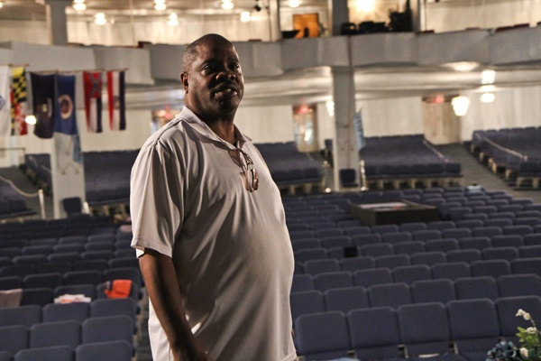 <p><p>Neighborhood resident James Johnson has been a member of the church for 10 years. He also does maintenance work at the opera house. (Kimberly Paynter/for NewsWorks)</p></p>