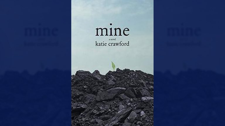 Mine, a new book by author Katie Crawford (Image via www.kirkusreviews.com/book-reviews/katie-crawford/mineC/)