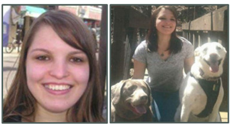 Photos of Lindsey Piccone, a 21 year-old Bensalem woman last seen on September 6 (Images via Missing Pieces Network)