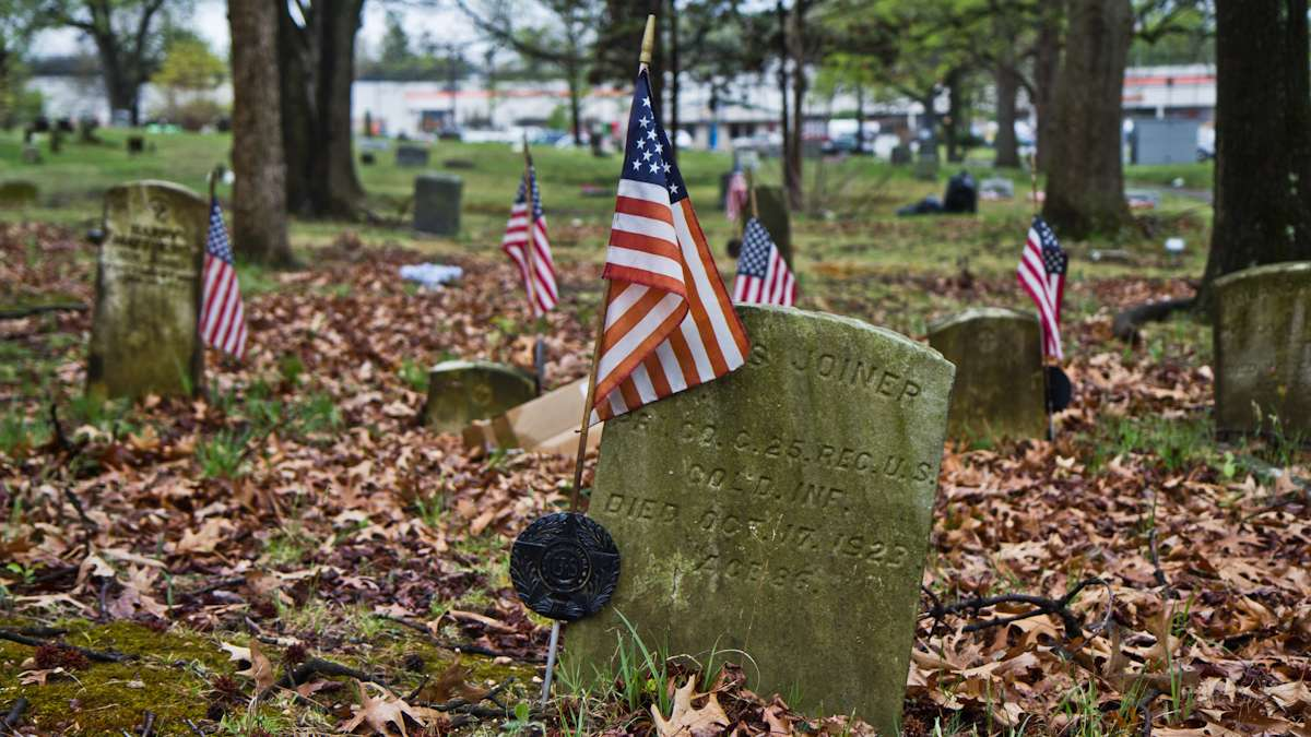 Surviving Civil War Veterans are buried at the Mount Peace Cemetery association.
