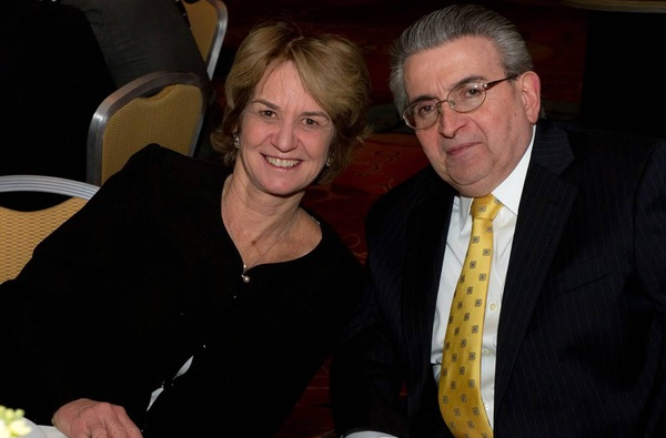<p><p>Kathleen Kennedy Townsend and Nicolas J. Maiale, MS Dinner of Champions cochair and MS Society, Delaware Valley Chapter, board member (Photo courtesy of Mark Garvin)</p></p>