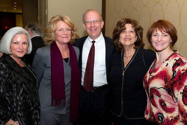 <p><p>Leslie Mazza of Diversified Search (left), Anne Morrissey of AmeriHealth Mercy Family of Companies, Steve Karlovic of CDI Corporation, Vision 2020 chair Rosemarie B. Greco, Del. Valley MS Society chapter president Tami L. Caesar (Photo courtesy of Mark Garvin)</p></p>
