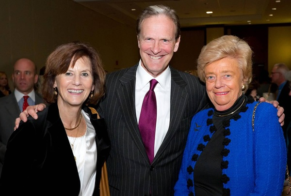 <p><p>Honoree Judith M. von Seldeneck (right), chair and CEO of Diversified Search, with Elizabeth and Peter Longstreth (Photo courtesy of Mark Garvin)</p></p>