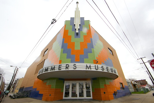 <p><p>The Mummers Museum, at Washington Avenue and 2nd Street in Philadelphia, is nearly as colorful on the outrside as it is on the inside. (Nathaniel Hamilton/for NewsWorks)</p></p>