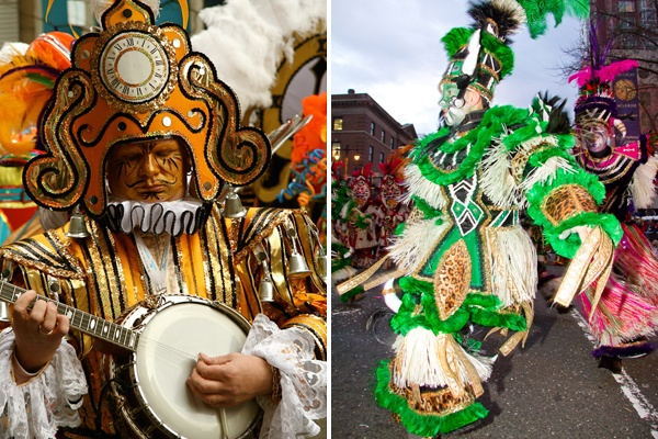 <p><p>The Mummers Parade is a particularly Philadelphian tradition. (Image courtesy of Kate Devlin)</p></p>