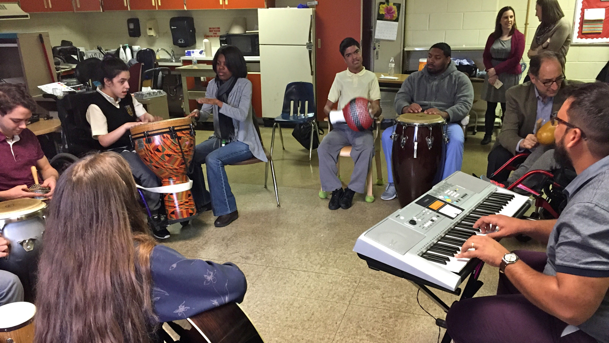 music therapy circle