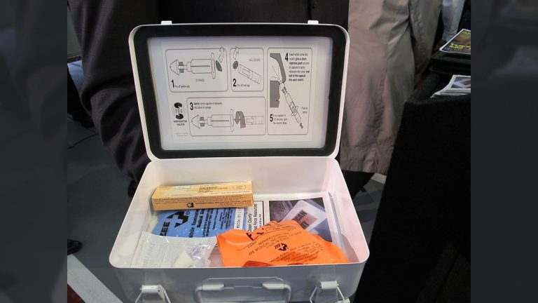 Narcan emergency kit (Phil Gregory / WHYY)