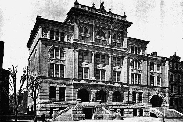 <p><p>The Mercantile Club was a members-only space for Philadelphia's prominent merchants and manfacturers beginning in 1894. (Historical image courtesy of Arcadia Publishing.)</p></p>
