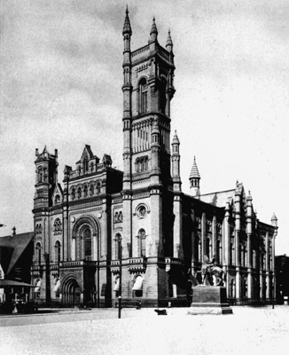 <p><p>The Masonic Temple was built between 1868 and 1873 at a cost of $1.6 million. (Historical image courtesy of Arcadia Publishing)</p></p>