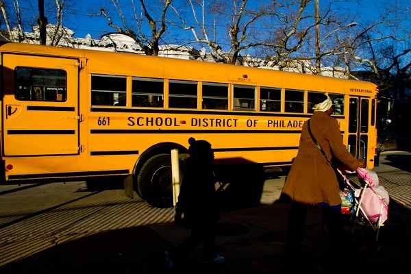 <p><p>On Thursday, the School District of Philadelphia proposed a plan which could see 44 schools either closed or relocated to other facilities. John L. Kinsey Elementary in West Oak Lane is among those that could close. (Brad Larrison/for NewsWorks)</p></p>