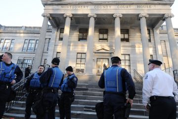 The Montgomery County Courthouse in Norristown, Pennsylvania. (Bastiaan Slabbers for WHYY)