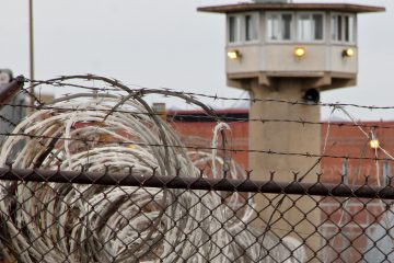 The correctional complex on State Road in Philadelphia. (Emma Lee/WHYY, file)
