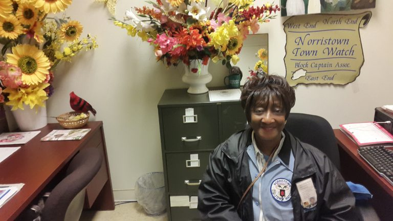 Doris Smith Starks heads up the Norristown Town Watch