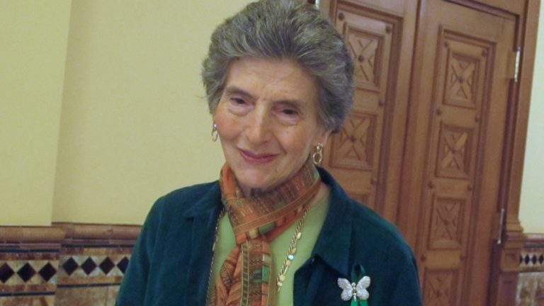 Rosemarie D'Alessandro was at the Statehouse awaiting Assembly passage of the measure (Phil Gregory/WHYY)