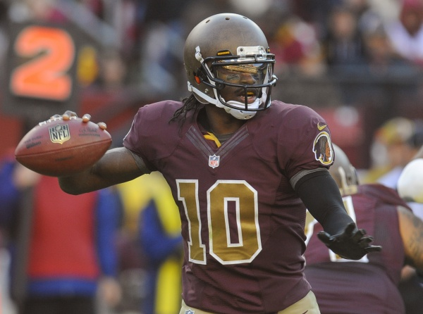 <p>Washington Redskins quarterback Robert Griffin III would not have wanted to be blamed for Obama's defeat.</p>