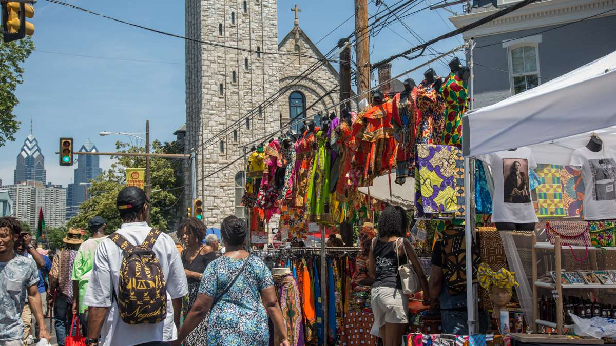 The Odunde Festival has celebrated the cultures of the African diaspora with a street fesitval every year since 1975.