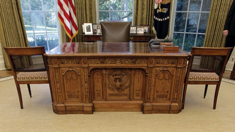 The Oval Office is shown in 2010. (AP Photo/J. Scott Applewhite)