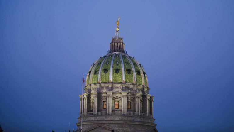 Representatives for Pennsylvania's 67 counties proposed five legislative priorities for the year. Shown is the Pennsylvania Capitol building at the state Capitol in Harrisburg, Pa. (AP Photo/Matt Rourke)