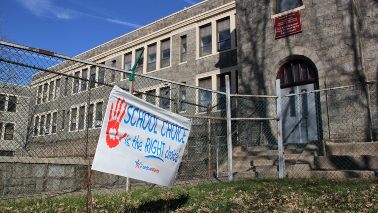 The troubled Walter D. Palmer Leadership Learning Partners Charter School has shut down completely. (Emma Lee/WHYY)