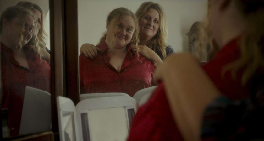 Danielle Macdonald and Bridget Everett in the film PATTI CAKE$. Photo courtesy of Fox Searchlight Pictures. © 2017 Twentieth Century Fox Film Corporation All Rights Reserved