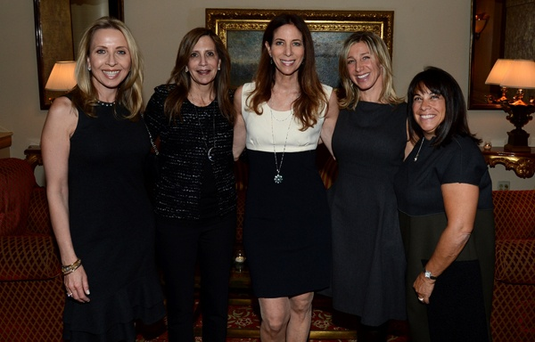 <p><p>Event chairLynn S. Shecter (center) with host committee members Mary Parenti (left), Hilarie L. Morgan, Hope Cohen andHelaine S. Banner (Photo courtesy of Flewellen Photography)</p></p>