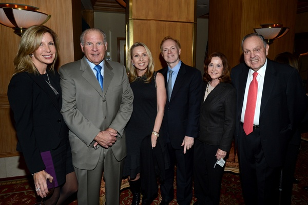 <p><p>Pam Estadt (left), Ira Lubert, chairman and co-founder of Lubert-Adler Partners, host committee membersMary Parenti andRich Castor, and Irene and Fred Shabel, vice-chairman of Comcast-Spectacor (Photo courtesy of Flewellen Photography)</p></p>