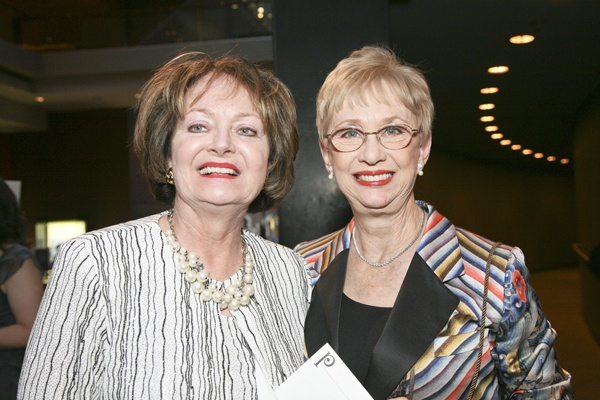 <p>&lt;p&gt;Regina Pakradooni, vice president of the Orchestra's Ad Hoc Committees and Special Functions (left) and Orchestra board member Ramona Vosbikian, chairman of the Volunteer Education Committee (Photo courtesy of Jessica Griffin)&lt;/p&gt;</p>