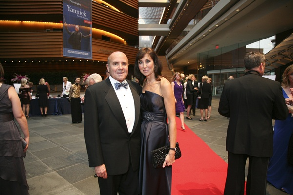<p>&lt;p&gt;Stephanie Brandow, president of the Orchestra's Volunteer Committees and her husband Dr. Kirk Brandow (Photo courtesy of Jessica Griffin)&lt;/p&gt;</p>