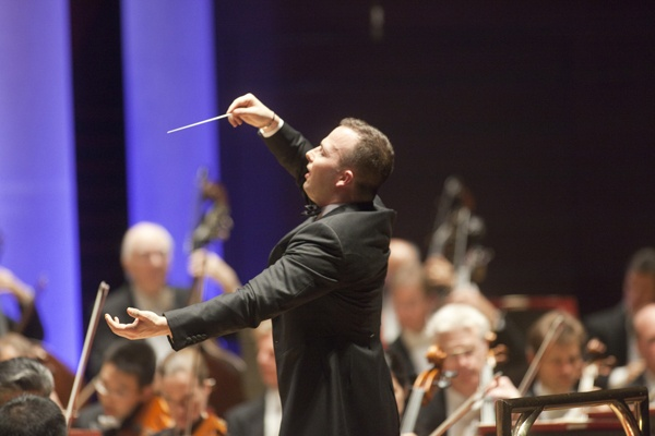 <p>&lt;p&gt;Yannick Nezet-Sequin conducts the Philadelphia Orchestra in his first concert as the new music director at the Orchestra's Opening Night Concert Oct. 18 at the Kimmel Center (Photo courtesy of Jessica Griffin)&lt;/p&gt;</p>