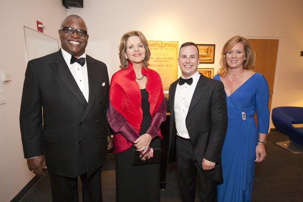 <p>&lt;p&gt;Yannick Nezet-Seguin (center) shares a post-concert moment with soprano Renee Fleming and Opening Night Co-chairs Osagie Imasogie (left) and Priscilla Holmes (Photo courtesy of Jessica Griffin)&lt;/p&gt;</p>